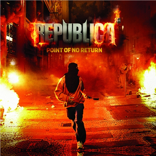 REPUBLICA - POINT OF NO RETURN ALBUM COVER